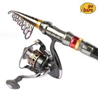 Wholesale Goture Carbon Telescopic Fishing Rod Meter Spinning Sea Rod Pole With Spinning Reel BB Rod Combo