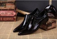 Precio de Hombres zapatos nuevos estilos-Nuevos Hombres De Estilo Italiano Zapatos Formal De Lujo De Cuero Original Zapatos Para Hombres Ocio Señalados Hombres De Negocios De Los Hombres De Vestir Zapatos De La Boda