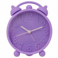 antique bedside tables - Hippih quot Retro Cute Silicone Alarm Clock Bedside Table Despertador Vibrant Colours Decoration Digital Clock Kids Reveil
