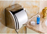 Wholesale hand dryer dry mobile phone automatic induction of stainless steel
