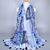 artistic scarf - Japanese Ethnic Style Scarves and Shawls for Women Fashion Design Artistic Style Bandana and Pashmina for Ladies