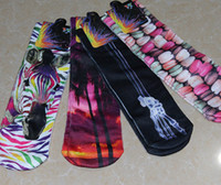 Wholesale 165 Designs kids women men socks D printed socks Cartoon socks Christmas stockings Halloween socks Hip hop socks