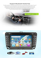 Wholesale New Audroid4 inch din n In Dash FAW car dvd player support Bluetooh iPod Input RDS TV USB SD steering wheel control
