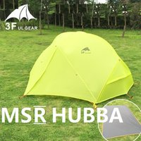 Wholesale Outdoor Ultralight Camping Tent Season Person Silicone mm Waterproof Winterized hiking Tents for MSR HUBBA