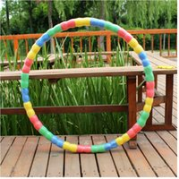 Wholesale sports hula hoop weighted hula hoops fitness magnetic hula hoop keep fit fitness weighted