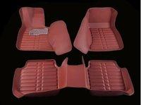 Wholesale Case for BMW series X1 X3 X5 X6 Car floor mats Car carpet Waterproof D Leather Anti slip carpet for car styling