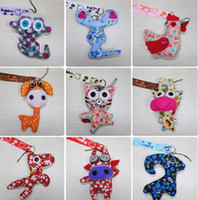 animal muppet doll - 2016 Hot A variety of styles Muppet Korean handmade cloth doll coin bag phone pendant ornaments key