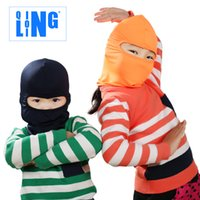 Wholesale New Popular Forest Sports for children to ride the wind and dust hoods summer sun mask bicycle sun caps