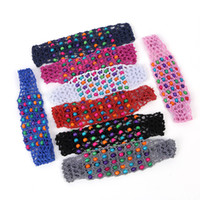 al por mayor relojes de mano-Multicolor Hand-Woven Hair Band Un Nuevo Párrafo Con Perlas De Moda De Las Damas De Pelo Hoop Hair Accessories / Lot Drop Shipping