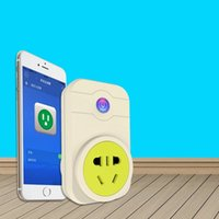 Wholesale Wifi G GB Standard Power Switch Remote Controlled Socket For iPhone S Android Smart Phone