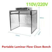 benches work - 110V V Laminar Flow Clean Bench Dust Free Working Room Refurbish LCD For Broken Phone LCD Repair Universal