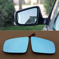 auto parts mirrors - Rearview Mirror Blue Glasses LED Turn Signal with Power Heating For Buick Lacrosse Auto parts