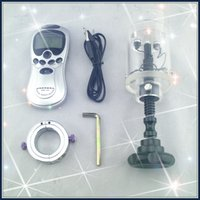adult box - Electric ball crusher with power box balls shock cylinder cock crusher CBT toy sex toy adult product