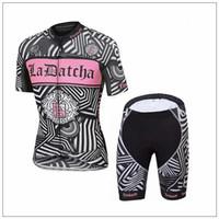 Venta al por mayor Tinkoff Pink Ciclismo Jersey Set para las mujeres de manga corta con Max Padded ropa ciclismo mujer Comprimido Cycling Cloth Girl estilo