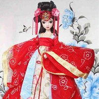 ancient chinese dolls - Novelty cm Kurhn Joint Body Dolls Chinese Ancient Bride Dolls Tang Dynasty Bride Brinquedos For Children Christmas Gift