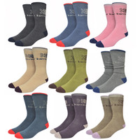 big mens socks - Big Size Karrimor Merino Wool Socks Men Full Terry Winter Warm Calcetines Deporte Colorful Thick Mens Socks Sport w