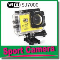 Wholesale Sports Video Cam Recorder - Sport camera SJ7000 WiFi 1080P Action Camera 1080P Full HD 2.0 LCD 30m Waterproof DV video Sport extreme mini cam recorder JBD-N3