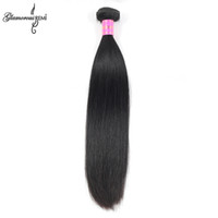 Wholesale Indian Straight Virgin Hair Bundle inch Raw Indian Hair Weaves Silky Straight A Unprocessed Remy Human Hair