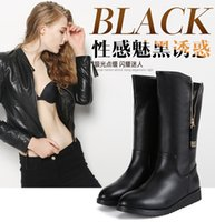 away love - Fashion ladies boots Let the cold in the winter far away from you I love you boots