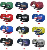 Wholesale 2016 NRL Cap Hat Baseball snapback hats for man With Logo Tags Football Helmet Outdoor Sports Hat NRL Ladder Mix Order