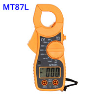 Wholesale Industrial Measurement Instrument MT87L Digital Clamp Meter Current Tester with Backlight CE Certification INS_50Y