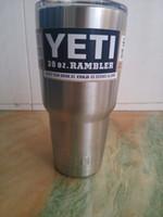 Wholesale Hot Sale Rambler Tumbler oz oz oz oz YETI Cups Cars Beer Mug Large Capacity Mug Tumblerful