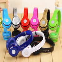 Wholesale S460 Bluetooth Headphone Wireless Headband Earphone Hands Free Music Headset With MF TF for Apple Samsung HTC LG Mobile Phone