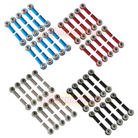 aluminum rod ends - 20pcs Aluminum M3 Link Rod End Ball Joint CW CCW for RC Car Crawler Buggy