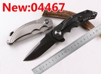 bears patriots - Half Sky Patriot Bearing Flip Knife D2 HRC High Quality Folding Pocket Survival OEM EDC Flipper Gift Knife Gift Collection knives