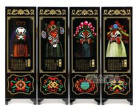 Wholesale A small screen luxury business gift and home decoration quot Peking Opera quot holiday gift crafts with Chinese characteristics