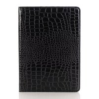 air cooler stand - Cool Crocodile Leather iPad covers Stands Case for Samsung Tablet Cases Galaxy tab Fashion iPad2 Tablet Cover Black Brown Red