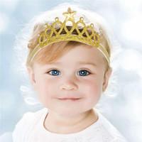 Blending baby girl crown - Hair Things Kids Hair Accessories Sequins Girls Hair Tiaras Baby Headbands Crowns Children Head Pieces