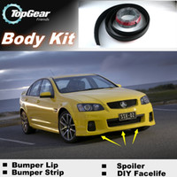 Wholesale Bumper Lip Lips For Holden Commodore Front Skirt Deflector Spoiler For Car Tuning The Stig Recommend Body Kit Strip