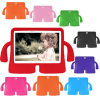 Wholesale 8 Colors kawaii Little Giant Series Cover Cases Protect for Galaxy Tab universal for inch Children Kids e Books Tablet PC