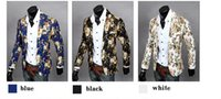 Wholesale Free shippping Summer style blazer men new slim fit blazers for men sport suit jacket casual blazer mens floral blazer coats platy suit