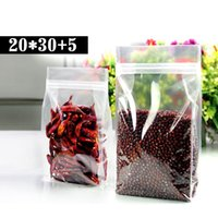 bean bag s - 50pcs cm cm cm mic High Quality Coffee Beans Bags Clear Plastic Food Bags Ziplock Bag Plastic Package