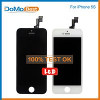 Wholesale GRADE AAA Quality For iPhone S C LCD Screen Assembly No Dead Pixels DHL Black White