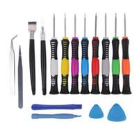 Wholesale 16 in Repair Tools Screwdrivers Set Kit For Mobile Phone iPhone S S GS iPad Samsung computer