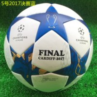Wholesale Match Football Soccerball Soccer Euro Champions League Antiskid Competition Training NO Soft Skin Particles