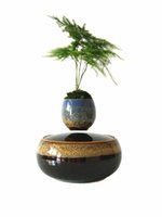 Wholesale 2016 japan high tech products magnetic levitation air bonsai no plant ceramic flower pot culture