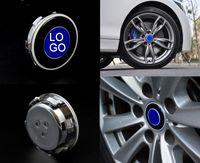 angels eyes selling - Car Logo Led Lights Magnetic Levitation Wheel Latest Hot Selling High Quality Strobe Hot Wheels Logo China Supply