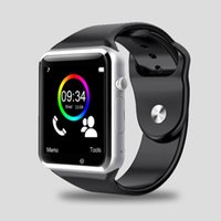 Wholesale 2016 Smart Watch A1 W8 With Sim Card Camera Bluetooth Smartwatch For Android ISO apple huawei Wearable Devices Whatsapp Facebook