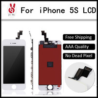 apple shopping - No Dead Pixel for IPhone S LCD Display Touch Screen Black or White free shopping DHL