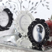 baroque style decor - Antique Oval Baroque Style Small Photo Frame Wedding Scene Props Christmas Birthday Wedding Favor Gift Home Decor ZA1229