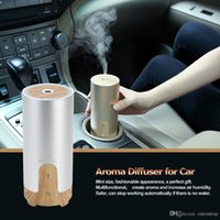 aroma machine - 5W Mini Car Diffuser for Aroma Air Humidifier Machine Aromatherapy Machine for Essential Oil Ultrasonic Vehicle mounted H16879