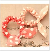Wholesale Min order Bow tousheng accessories headband rabbit ears circle hair rope