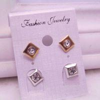 al por mayor mercancías al por mayor coreano-Calidad coreana de la venta al por mayor de la joyería de la nueva personalidad de la manera de los pendientes de la perla de imitación de la joyería