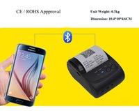 Wholesale Portable Printer Bluetooth printer Thermal Receipt Printer For Iphone Apple Phone Pocket Bluetooth Printer MM