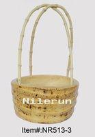 bamboo food tray - creative bamboo root fruit basket candy tray snacks tray