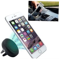 Wholesale Universal Car Air Vent Phone Holder Mount Stand Magnetic For iPhone Samsung Mobile Phone iPhone GPS Gift GU ugoo new